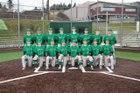 Woodinville Falcons Boys Varsity Baseball Spring 17-18 team photo.