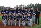 First Baptist School Hurricanes Boys Varsity Baseball Spring 17-18 team photo.
