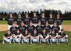 Bonney Lake Panthers Boys Varsity Baseball Spring 17-18 team photo.