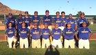 San Pasqual Valley Warriors Boys Varsity Baseball Spring 17-18 team photo.