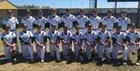 Alma Airedales Boys Varsity Baseball Spring 17-18 team photo.