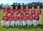 Cave City Cavemen Boys Varsity Baseball Spring 17-18 team photo.