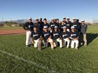Pueblo Warriors Boys Varsity Baseball Spring 17-18 team photo.