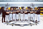 North Forest Bulldogs Boys Varsity Baseball Spring 17-18 team photo.