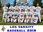 Lincoln Fighting Zebras Boys Varsity Baseball Spring 17-18 team photo.