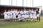 Heritage Coyotes Boys Varsity Baseball Spring 17-18 team photo.