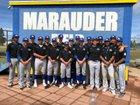 Mira Mesa Marauders Boys Varsity Baseball Spring 17-18 team photo.