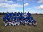 Briggsdale Falcons Boys Varsity Baseball Spring 17-18 team photo.