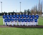 Bothell Cougars Boys Varsity Baseball Spring 17-18 team photo.