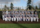 Lake Washington Kangaroos Boys Varsity Baseball Spring 17-18 team photo.