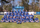 Mandeville Skippers Boys Varsity Baseball Spring 17-18 team photo.