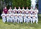 White River Hornets Boys Varsity Baseball Spring 17-18 team photo.