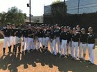 Loyola Cubs Boys Varsity Baseball Spring 17-18 team photo.