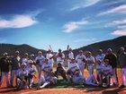 Mora Rangers/Rangerettes Boys Varsity Baseball Spring 17-18 team photo.