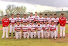 Robertson Cardinals Boys Varsity Baseball Spring 17-18 team photo.