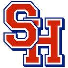 Sacred Heart Fightin' Saints Boys Varsity Baseball Spring 17-18 team photo.