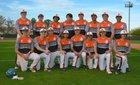 Aztec Tigers Boys Varsity Baseball Spring 17-18 team photo.