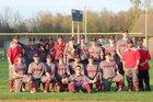 Riverside Vikings Boys Varsity Baseball Spring 17-18 team photo.
