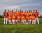 Holcomb Longhorns Boys Varsity Baseball Spring 17-18 team photo.