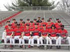 DuPont Manual Crimsons Boys Varsity Baseball Spring 17-18 team photo.