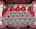 Florence Eagles Boys Varsity Baseball Spring 17-18 team photo.