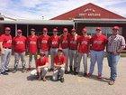 Deer Antlers Boys Varsity Baseball Spring 17-18 team photo.
