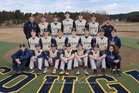 Evergreen Cougars Boys Varsity Baseball Spring 17-18 team photo.