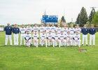 Naches Valley Rangers Boys Varsity Baseball Spring 17-18 team photo.