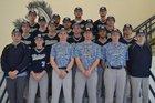 Buffalo Island Central Mustangs Boys Varsity Baseball Spring 17-18 team photo.