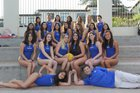 The Webb Schools Gauls Girls Varsity Water Polo Winter 18-19 team photo.