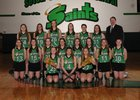 Seton Catholic Central Saints Girls Varsity Lacrosse Spring 17-18 team photo.