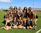 Murrieta Valley Nighthawks Girls Varsity Lacrosse Spring 17-18 team photo.