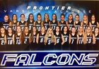 Frontier Falcons Girls Varsity Lacrosse Spring 17-18 team photo.