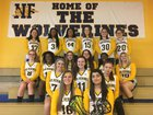 Niagara Falls Wolverines Girls Varsity Lacrosse Spring 17-18 team photo.