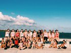 Key West Conchs Girls Varsity Lacrosse Spring 17-18 team photo.