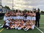 Harker Eagles Girls Varsity Lacrosse Spring 17-18 team photo.