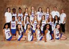 Peachtree Ridge Lions Girls Varsity Lacrosse Spring 17-18 team photo.