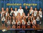 Naples Golden Eagles Girls Varsity Lacrosse Spring 17-18 team photo.