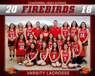 Chaparral Firebirds Girls Varsity Lacrosse Spring 17-18 team photo.