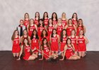 Mundelein Mustangs Girls Varsity Lacrosse Spring 17-18 team photo.