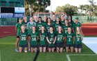 Saint Stephen's Episcopal Falcons Girls Varsity Lacrosse Spring 17-18 team photo.