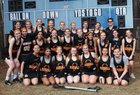 Fuquay - Varina Bengals Girls Varsity Lacrosse Spring 17-18 team photo.
