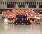 Houghton Gremlins Boys Varsity Ice Hockey Winter 18-19 team photo.
