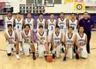 Mescalero Apache Chiefs Boys JV Basketball Winter 17-18 team photo.