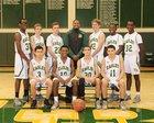 Fort Bend Christian Academy Eagles Boys JV Basketball Winter 17-18 team photo.