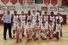 Coral Gables Cavaliers Boys JV Basketball Winter 17-18 team photo.