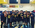 Inderkum Tigers Boys JV Basketball Winter 17-18 team photo.