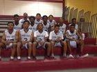 Cross Creek Razorbacks Boys JV Basketball Winter 17-18 team photo.