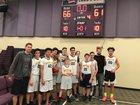 Cornerstone Christian  Boys JV Basketball Winter 17-18 team photo.