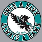 Hickory Hawks Boys JV Basketball Winter 17-18 team photo.